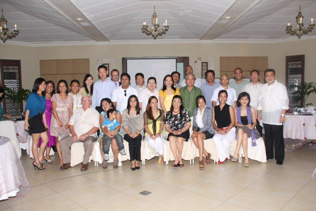 members at cebu stamp club @ 15 grand reunion